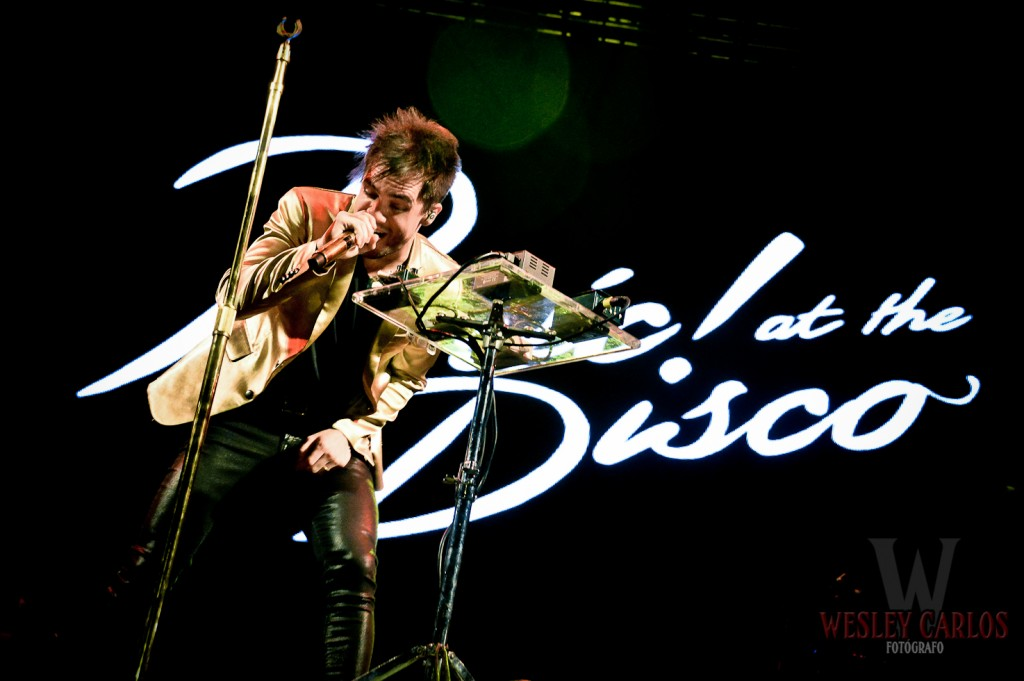Brendon Urie - Panic! At The Disco | Belo Horizonte, MG - Circuito Banco do Brasil 2014 | © Wesley Carlos