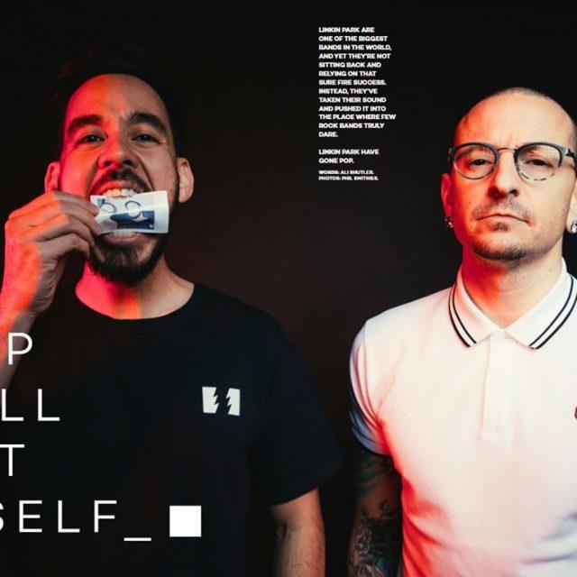 O LinkinPark  capa da ltima edio da revista Upsethellip